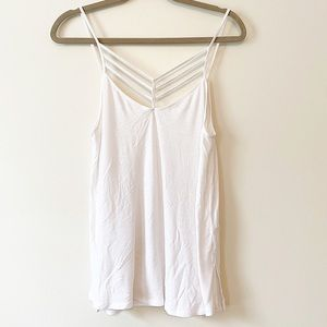 Forever 21 Strappy Tank Top Size Small White